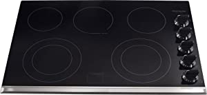 """Frigidaire FGEC3067MB 30"""" Gallery Series Electric Cooktop in Stainless Steel"""