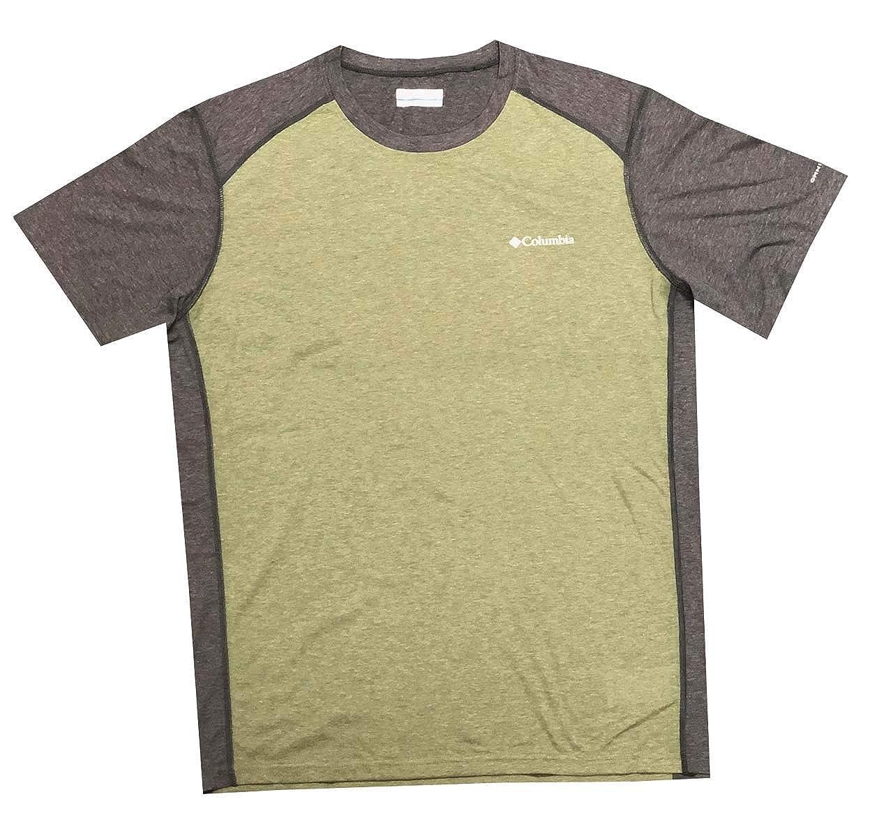 Columbia Mens Kestrel Trail Zero Blocked Omni-Freeze Zero Crew T-Shirt