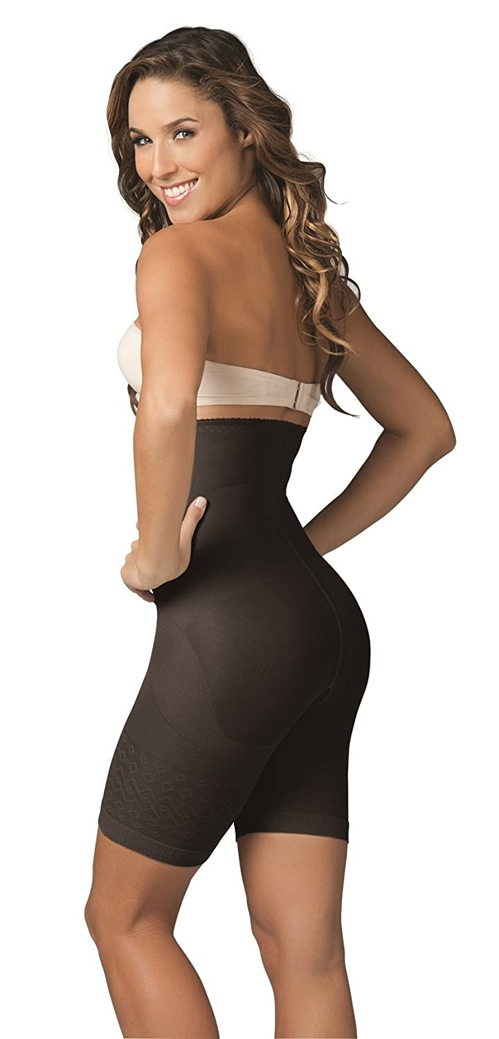 cceab248fd5db Amazon.com  ShapEager Braless Waist Cincher Shapes The Body Lift Up The  Buttocks Body Shaper Black  Clothing