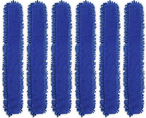 CleanAide Chenille and Terry Weave Microfiber Duster Cover 6 Pack