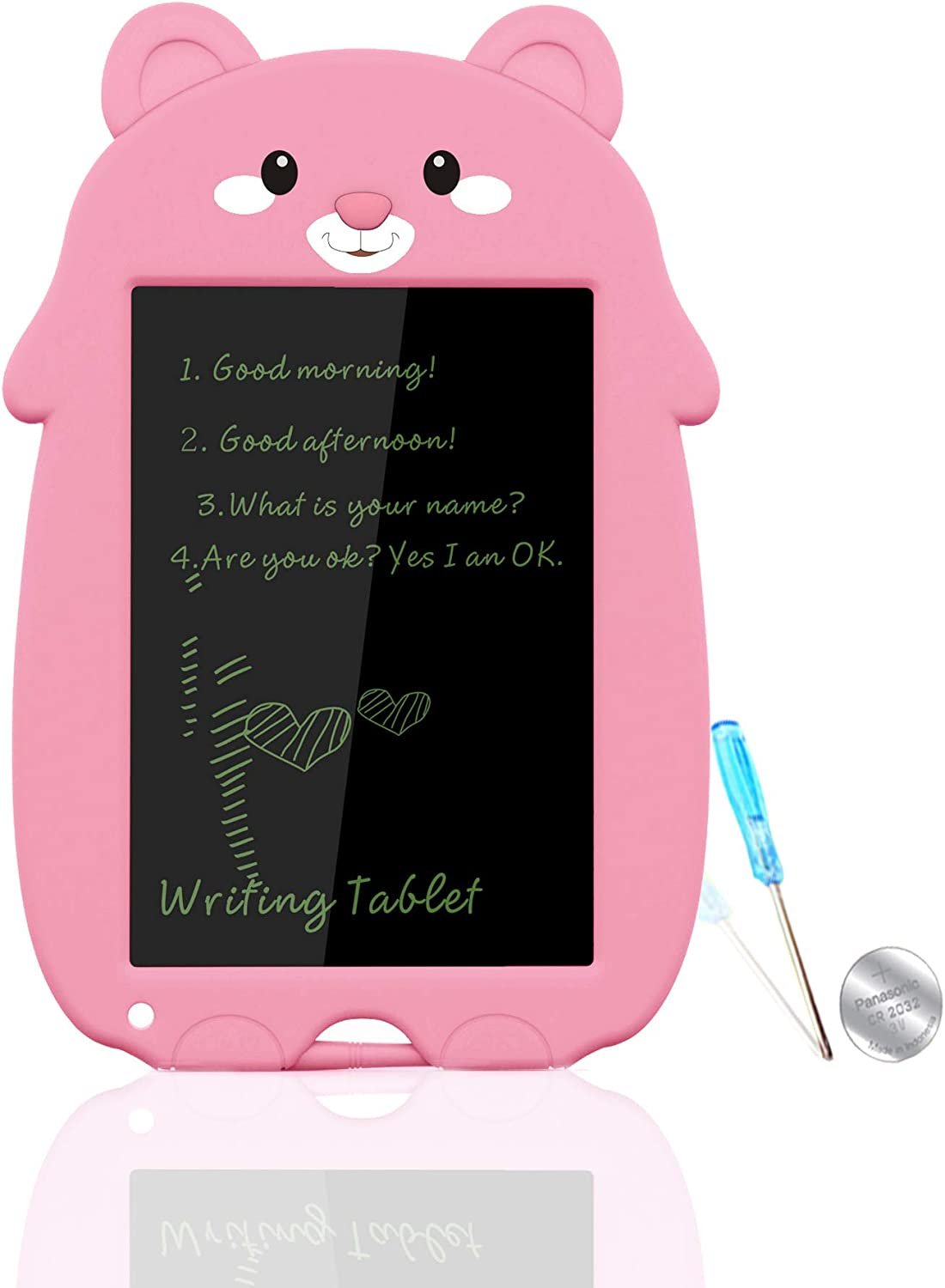 Black2 9 inch Writing /&Drawing Pad Doodle Board Toys for Kids VNVDFLM Birthday Gift for 4-5 Years Old Kids LCD Writing Tablet with Stylus Smart Paper for Drawing Writer