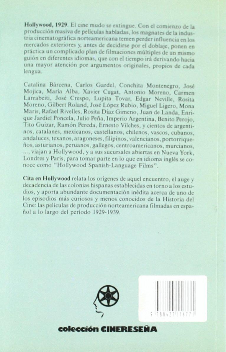 Cita en Hollywood : las películas norteamericanas habladas en español: Varios: 9788427116771: Amazon.com: Books