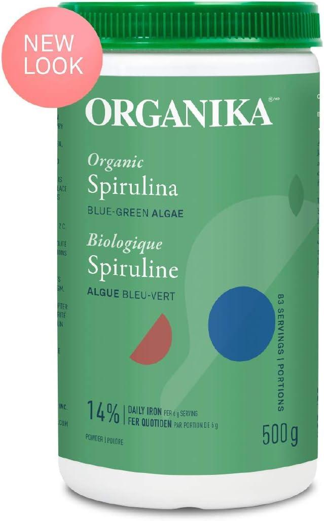 Organika Organic Spirulina Powder, 500 g