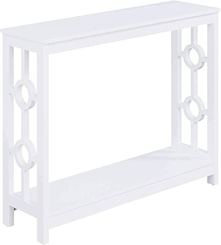 Convenience Concepts Ring Console Table, White