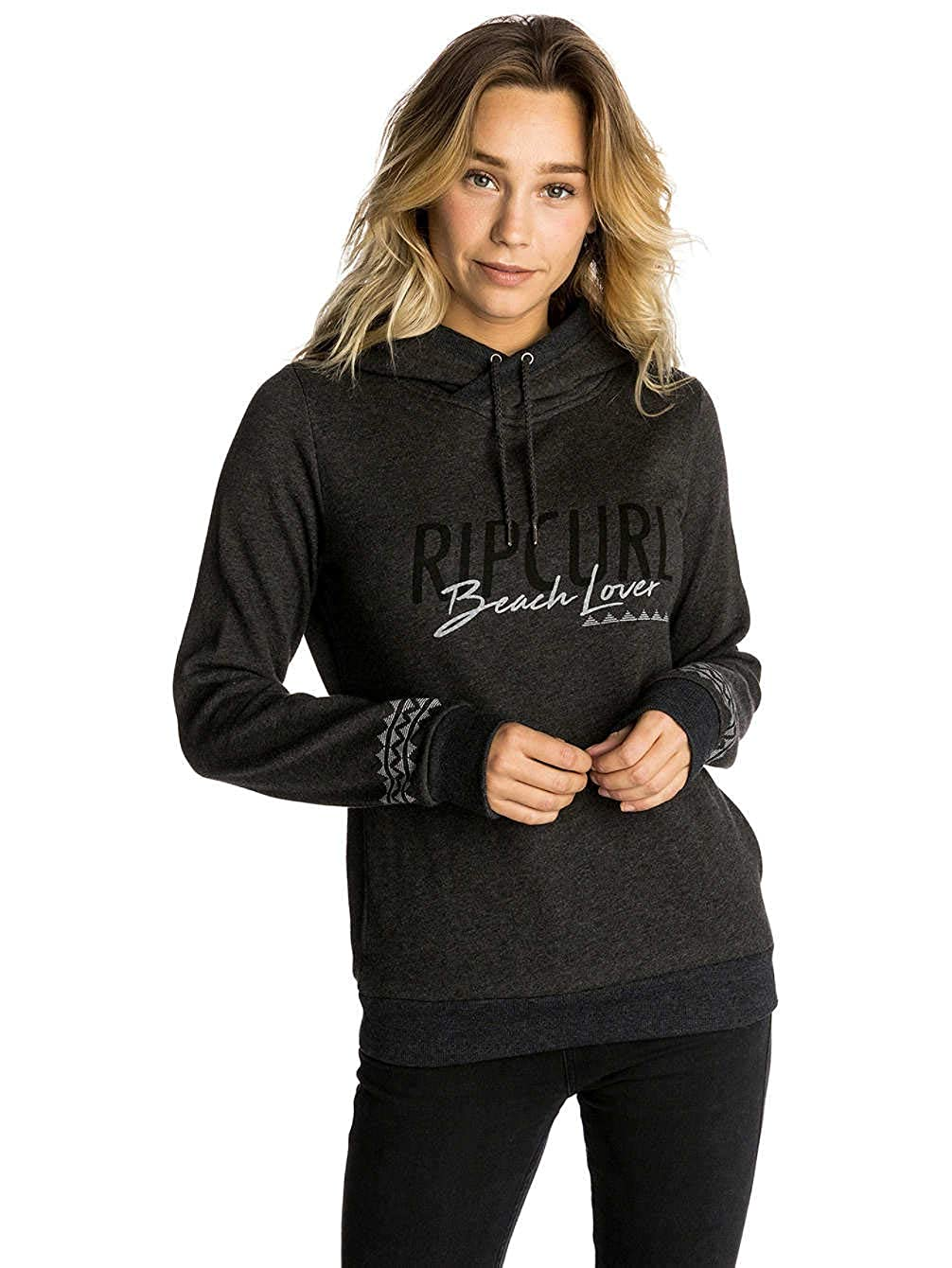 TALLA XL. RIP CURL Beach Lover Hooded Fleece Sudadera, Mujer