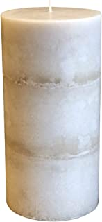 product image for Wicks N More Ivory Bliss Unscented Pillar Candles (3x6)