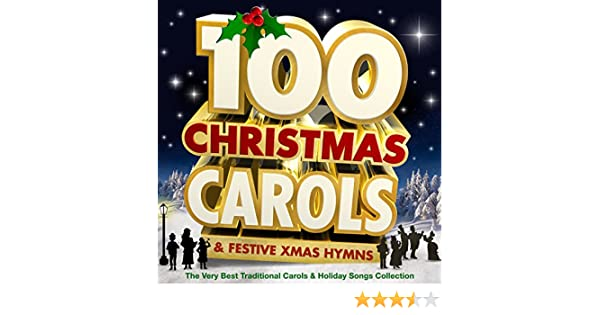 100 christmas carols festive xmas hymns the very best traditional carols holiday songs collection by the oxford trinity choir on amazon music - Best Christmas Hymns