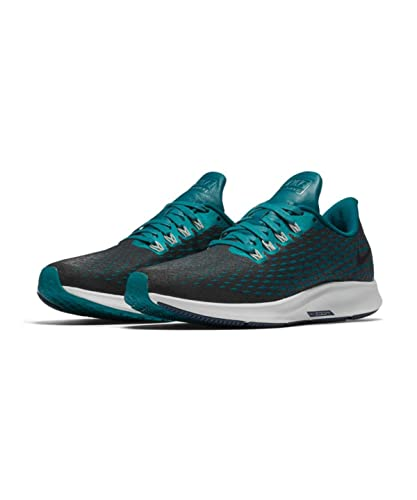 new concept 6863e df79a Nike Women's Air Zoom Pegasus 35 PRM Premium, Geode Teal/Midnight Spruce, 8