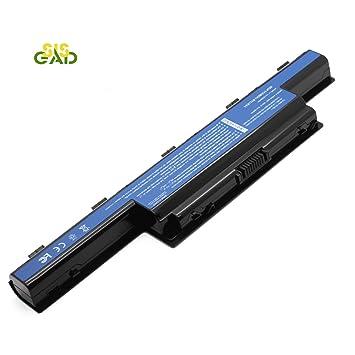SISGAD 11.1V 5200mAh de alto rendimiento de la batería del ordenador portátil para Acer Aspire