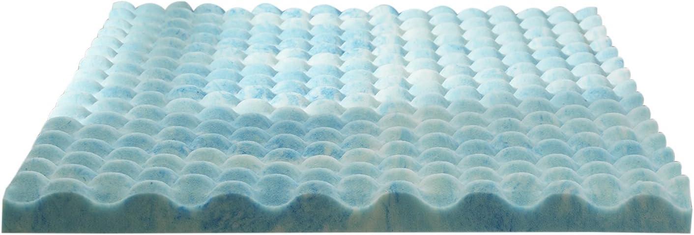 Sleep Innovations 2.5 Inch Gel Memory Foam Mattress Topper – Twin XL