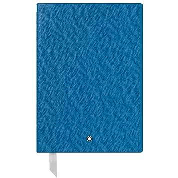 Montblanc 116516 - Cuaderno #146 Fine Stationery – Diario de piel con páginas rayadas – Bloc para apuntes A5 – 150 x 210 mm, 192 páginas, tapa color ...