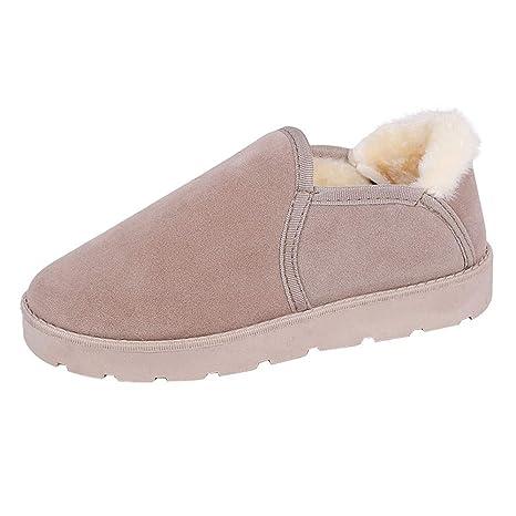 Zapatos Mujer OtoñO Invierno 2018 ZARLLE Vintage Moda Unisexo Hombre Mujer Zapatillas Otoño Invierno Interior Casa