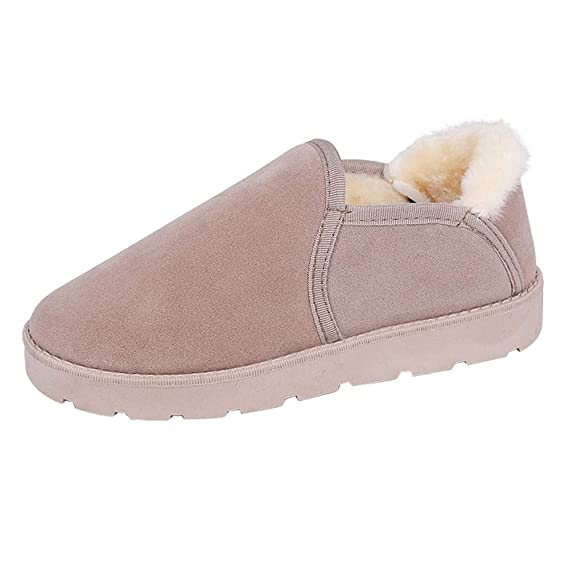 Amazon.com: Hunzed Women【Cotton Warm Bread Shoes】 Female Snow Boots Student Flat Winter Warm Within Velvet Shoes: Toys & Games