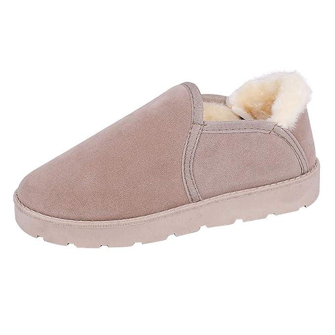 Zapatos de Peluche para Mujeres, Botas de Nieve para Mujeres, Zapatos de