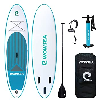 WOWSEA Tabla Inflatable Paddle para Surf, Paddle Board Hinchable ...