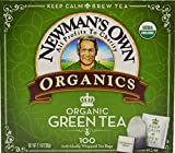 Newman's Own Organics Royal Tea, Organic Green Tea, 100 Tea Bags,7.1 ounce (Pack of 5)