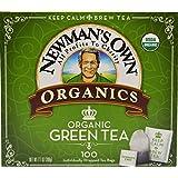 Newman's Own Organics Royal Tea, Organic Green Tea, 100 Tea Bags,7.1 ounce (Pack of 5)