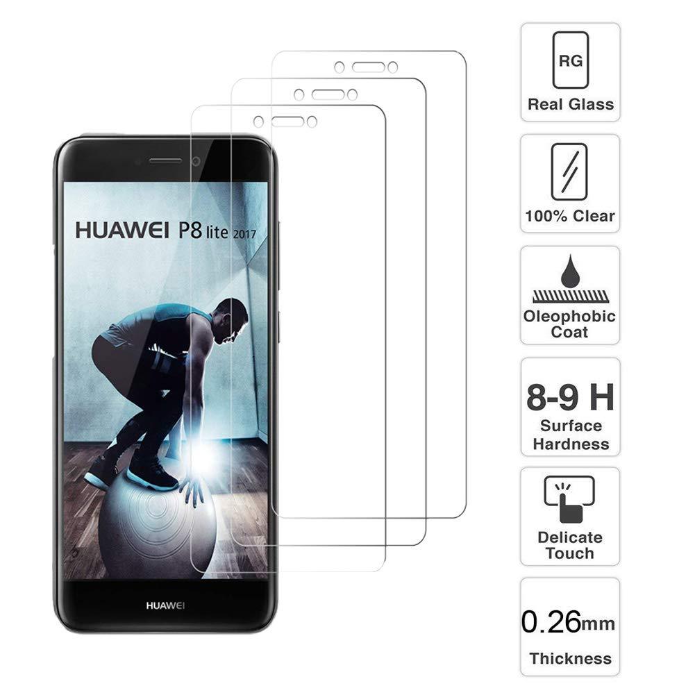 Loyiigo [3 Unidades Protector de Pantalla para Huawei P8 ...