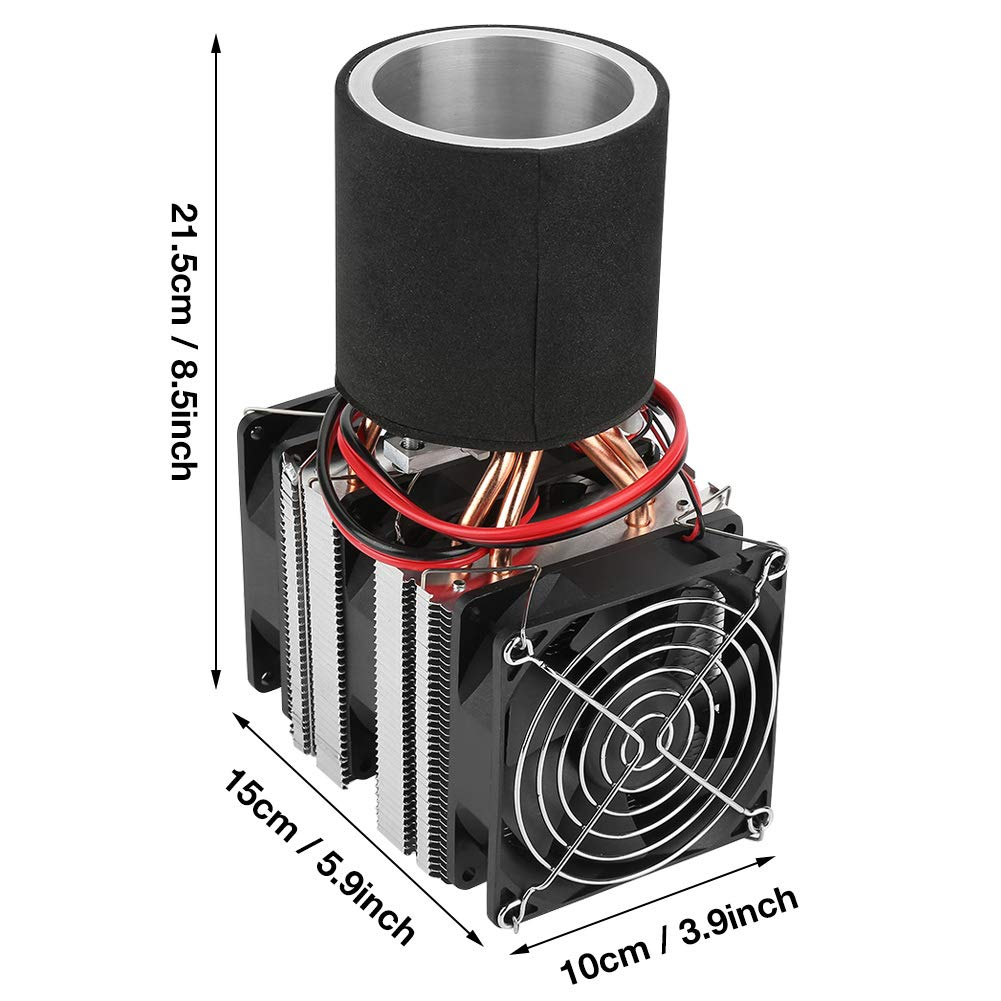 Cooler DIY Kit DC12V Electronic Semiconductor Refrigeration DIY Cooler Cooling System Kit for PC Electronic Components