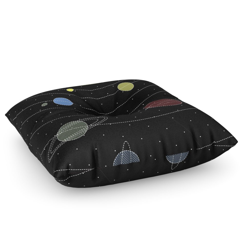 Society6 SPACE Floor Pillow Square 30'' x 30''