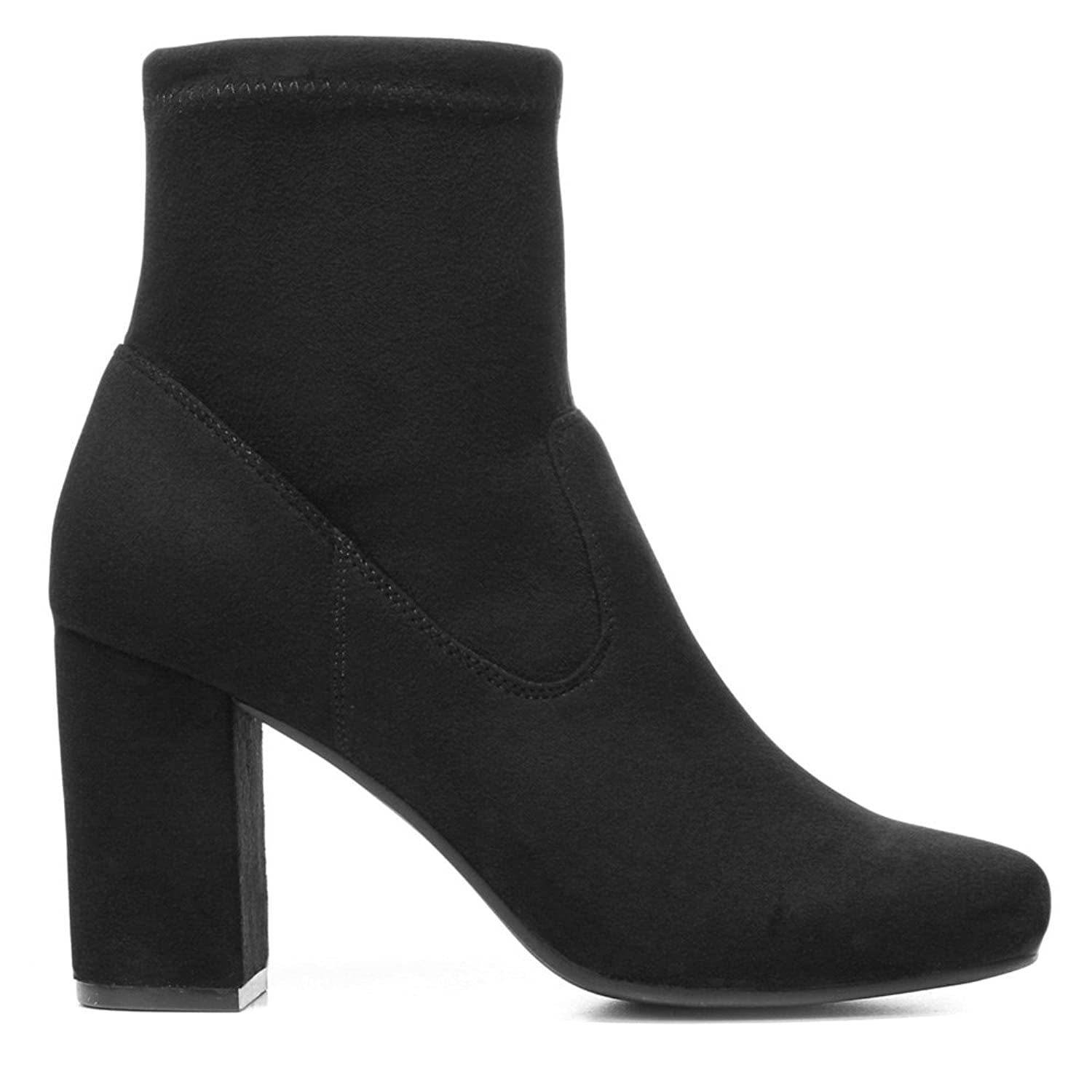 Womens Reza Fabric Closed Toe Ankle Fashion Boots