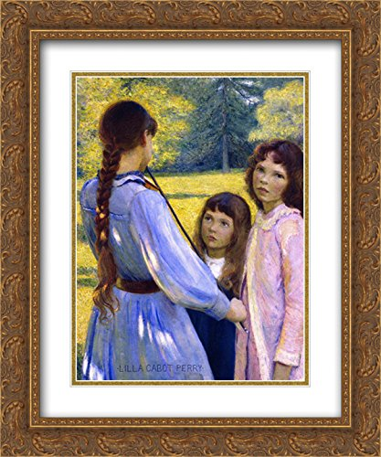 Lilla Cabot Perry 2X Matted 20x24 Gold Ornate Framed Art Print 'Open Air Concert ' (Air Open Concert)