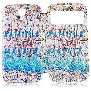 GX Teléfono Móvil Samsung - Carcasas de Cuerpo Completo - Gráfico/Dibujos Animados/Diseño Especial - para Samsung S4 I9500 ( Multi-color , Cuero PU )