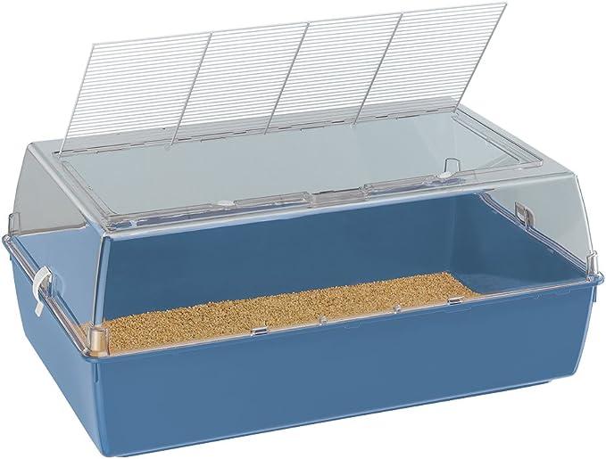 Ferplast Duna Multy Small Animal Cage, 71 x 46 x 31.5 cm, Blue