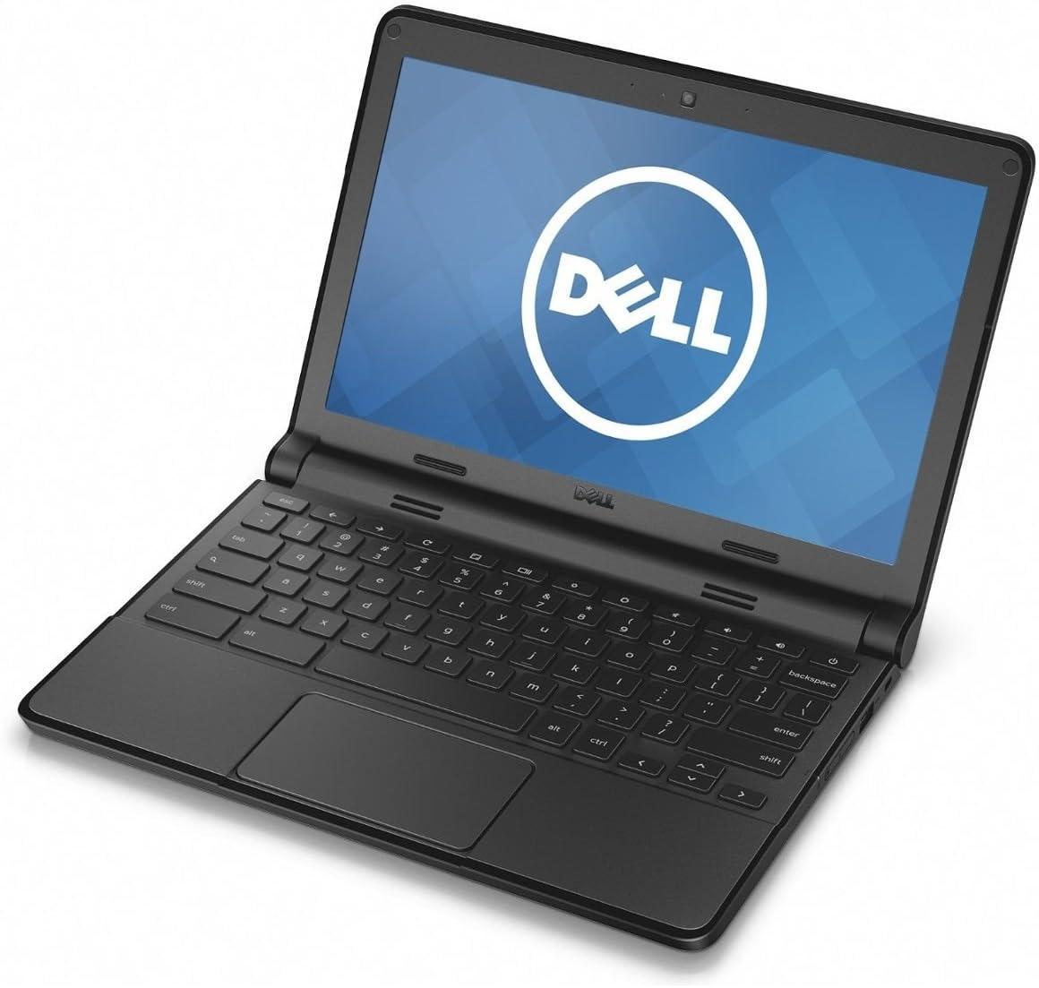 """Dell 11-3120 Intel Celeron N2840 X2 2.16GHz 4GB 16GB 11.6"""" Chrome OS,Black(Scratch and Dent)"""