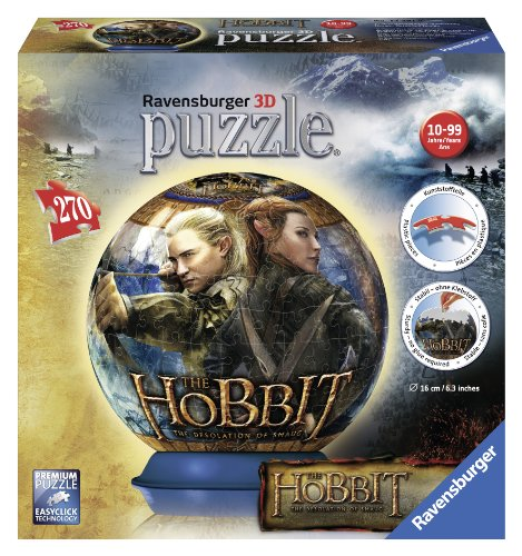 Ravensburger The Hobbit - Desolation of Smaug - 3D Puzzle (270-Pice)