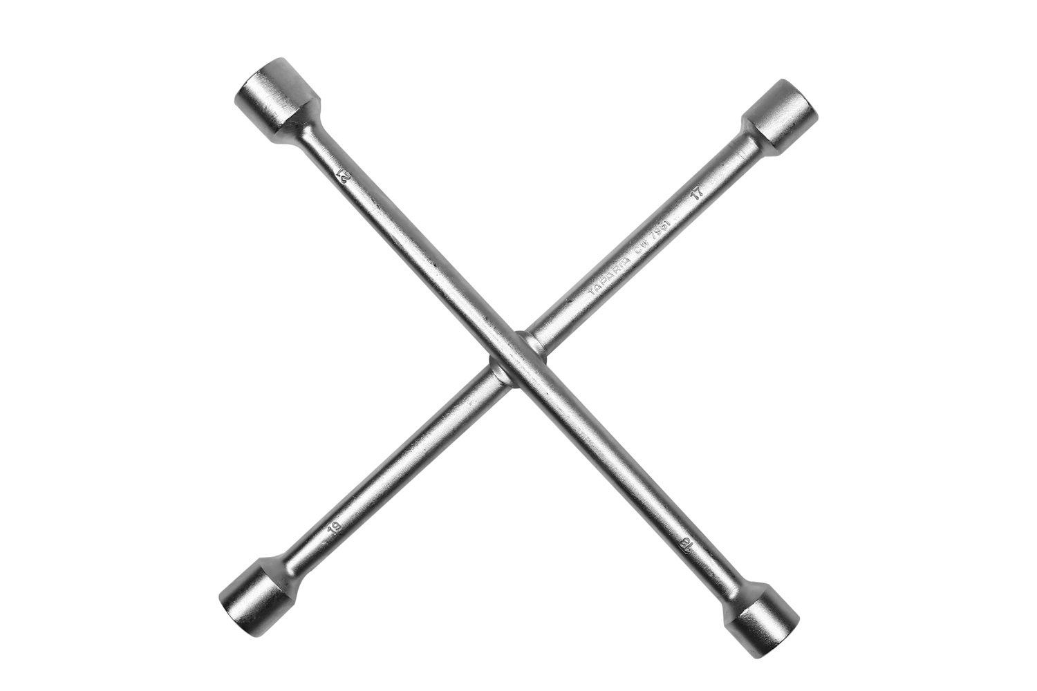 Taparia CW7981 Steel (17 x 19 mm, 18 x 21 mm) Cross Rim Wrench (Silver) product image