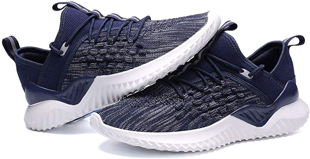 2019 Running Sport Shoes Non-Slip Light Fashion Sneakers Mens Leisure Athletic Flat