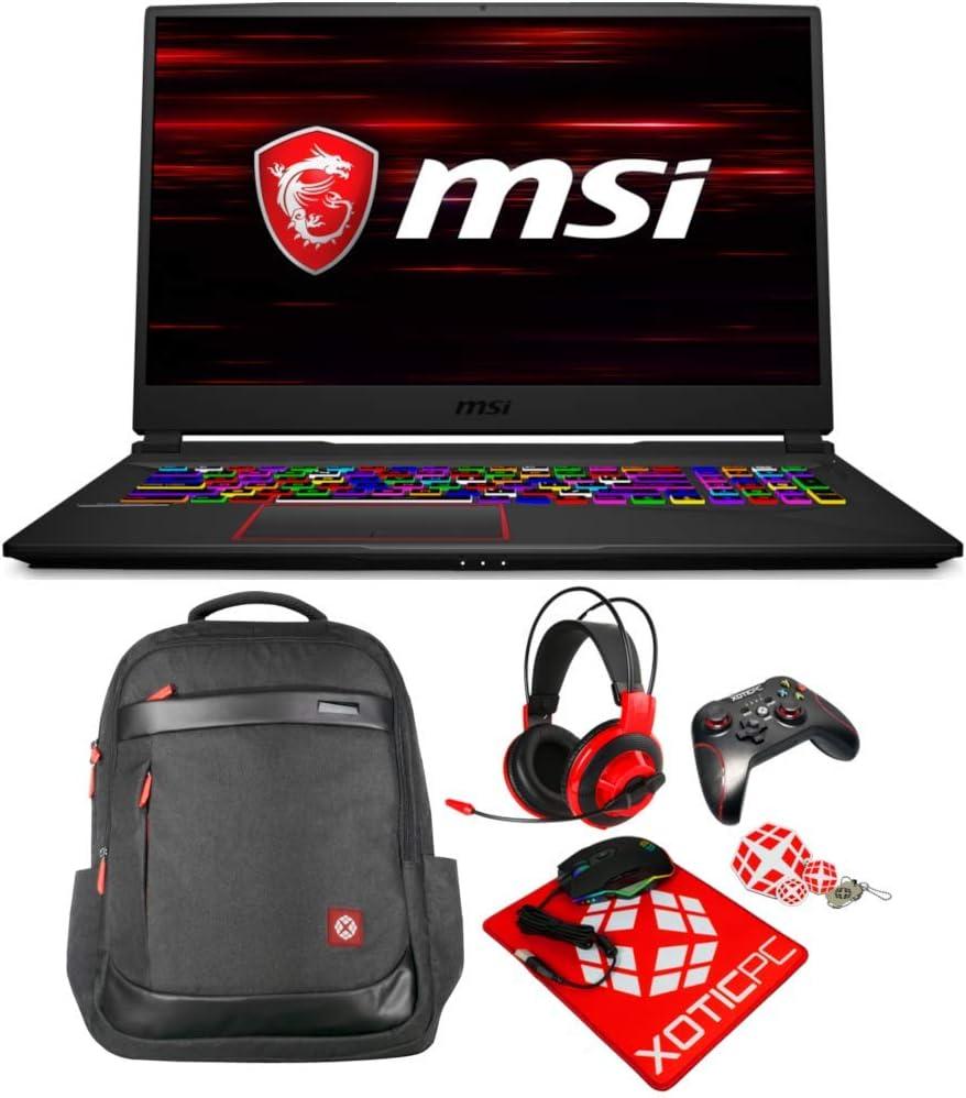 "MSI Enthusiast E75 Raider 17.3"" 300Hz FHD IPS Intel Core i7 10th Gen 10875H (2.30 GHz) GeForce RTX 2070 Super 32GB Memory 2X 2TB 970 EVO Plus NVMe SSD Windows 10 Home 10SFS-291 Gaming Laptop"