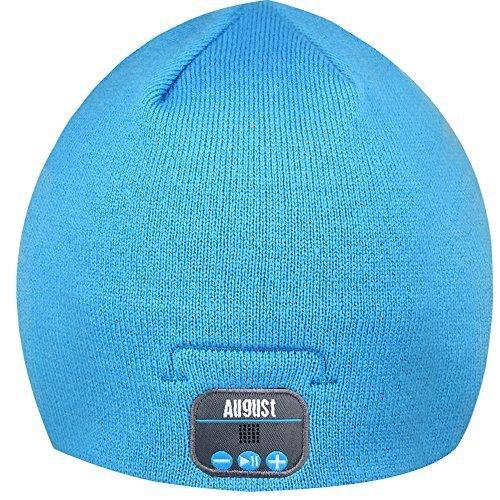 37050abb815 August EPA20 – Bluetooth Headphone Hat - Winter Beanie Hat with Bluetooth  Stereo Headphones