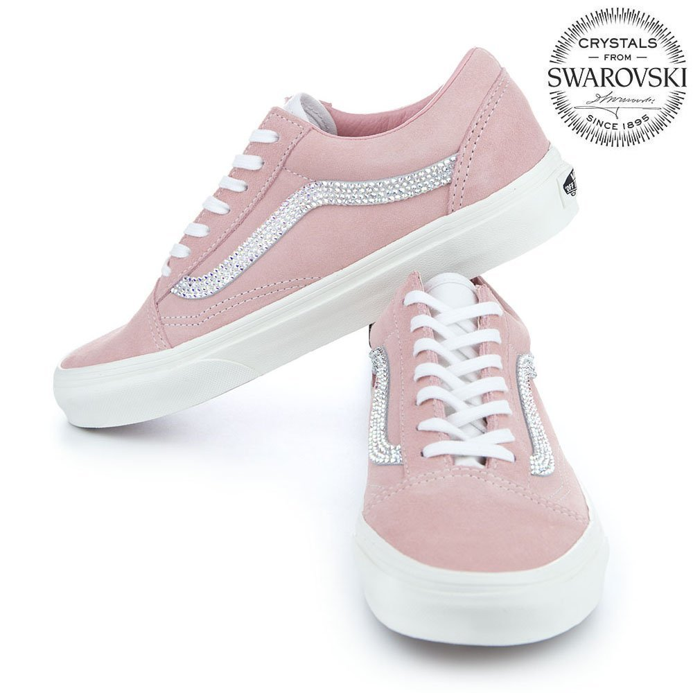 756cdacebf8c3 Amazon.com: Vans old skool Womens shoes, Bling Vans shoes for women ...