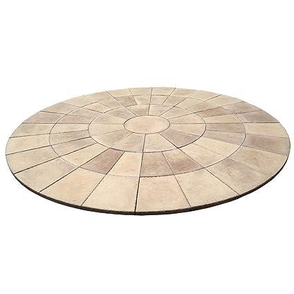 Dia Heritage Stone San Juan Blend Circle Patio Kit