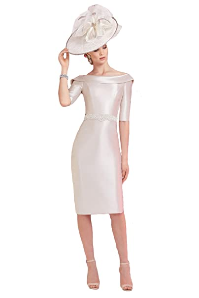 Newdeve Light Pink Mother of The Bride Dresses Plus Size ...