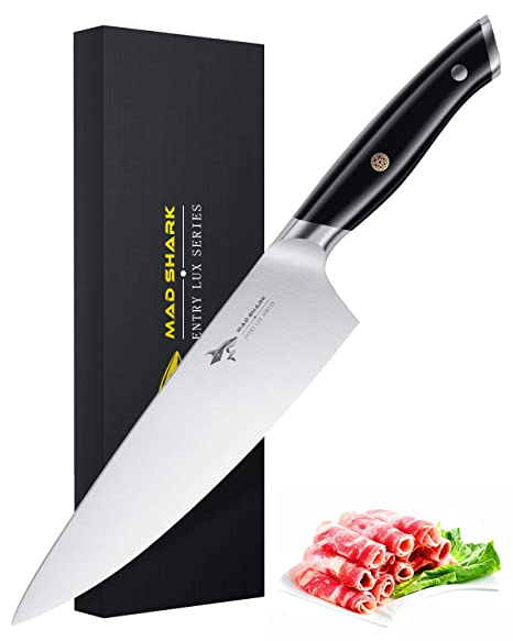 Amazon.com: Mad Shark Pro cuchillo de cocina, cuchillo de ...