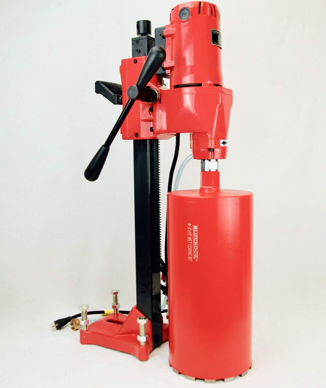 NEW 8'' Z-1 BLUEROCK Tools CORE DRILL W/STAND CONCRETE CORING