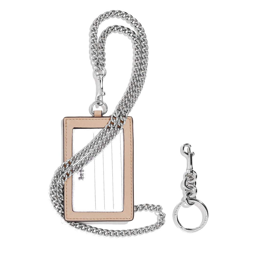 Coach Women's Boxed ID Lanyard/Card Case Set in Signature Patent Leather (Platinum/Silver) by COACH (Image #1)