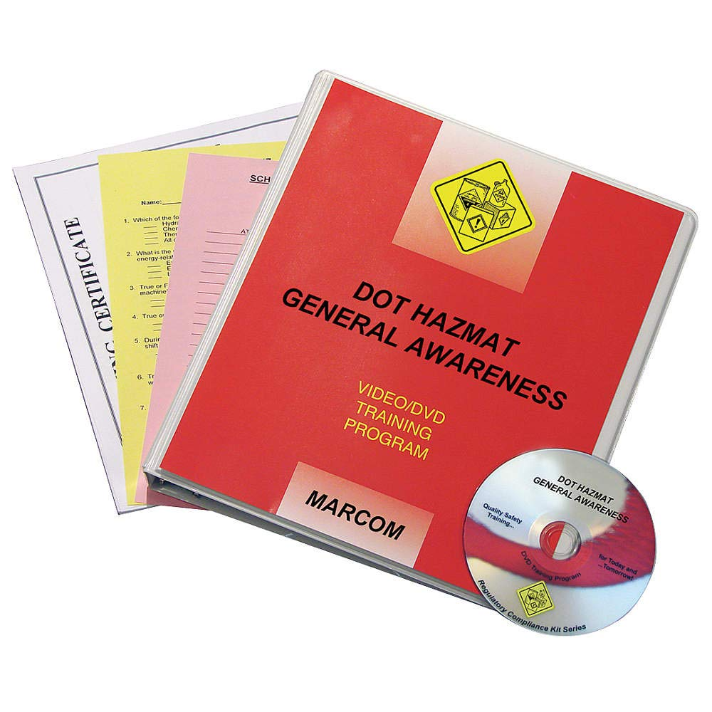 MARCOM DOT HAZMAT General Awareness DVD Program