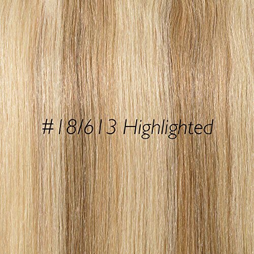Rich Remy 16inch 2 piece clip ins AS SEEN ON TV (#18/613 Highlighted...
