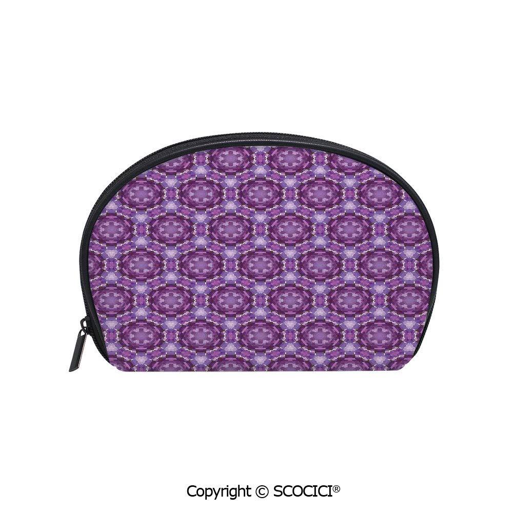 Small Purse Fractal Purple Inspiring Coin Case for Women