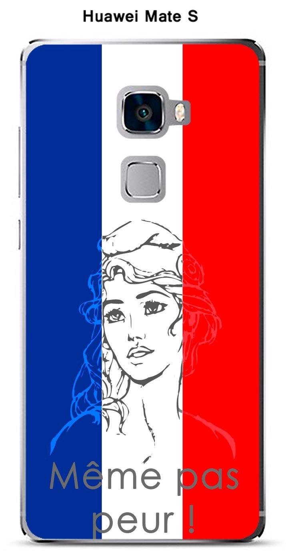 Onozo Carcasa Huawei Mate S Design Marianne Meme Pas Peur ...