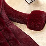 Women Faux Fur Coat Elegant Thick Warm Winter