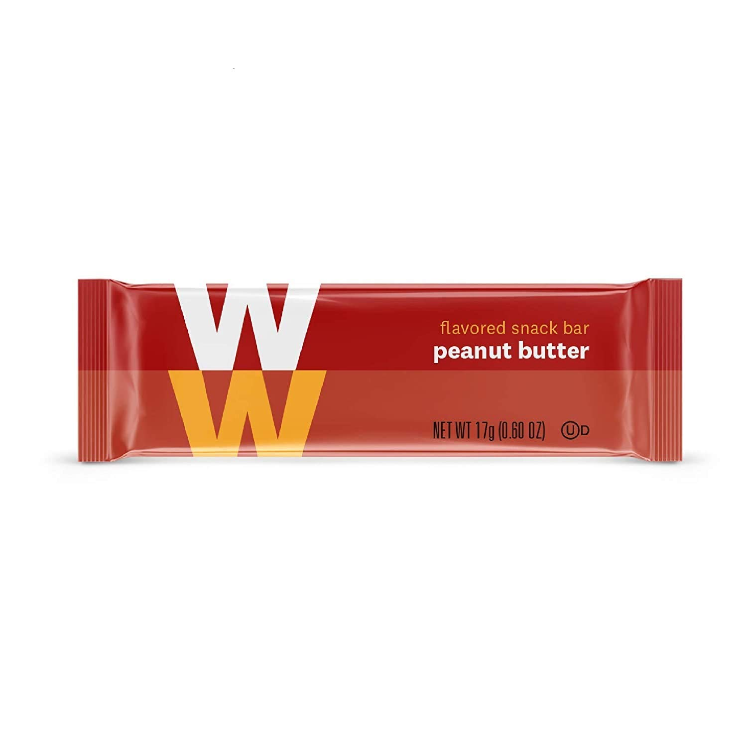 WW Peanut Butter Mini Bars - Snack Bar, 2 SmartPoints - 1 Box (24 Count Total) - Weight Watchers Reimagined