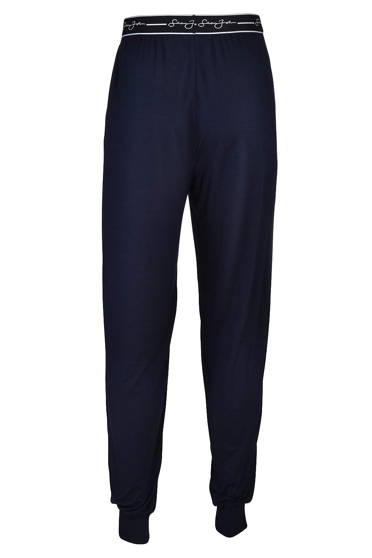 Side Pockets Lounge Pants Jersey Spandex//Polyester Blend Sean John Mens Joggers Super Soft