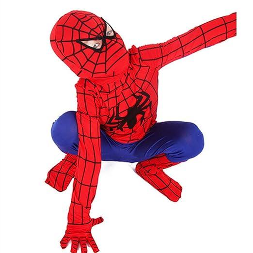 WEDSGTV Disfraz Spiderman Niño Máscara De Cabeza Completa ...