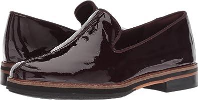 a9e6ba9d3d0 CLARKS Women s Frida Loafer Aubergine Patent Leather 5 B US B ...