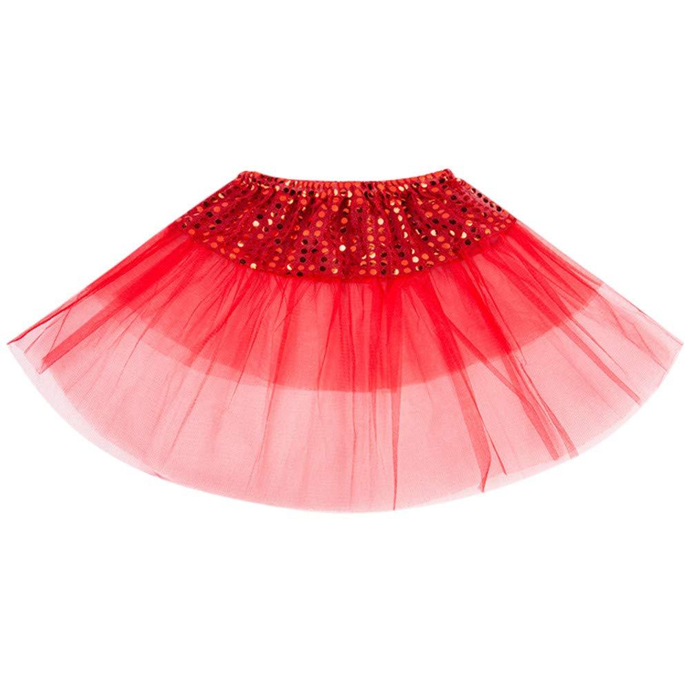 Mitlfuny Karnevalskost/üm f/ür Fastnacht /& Mottopartys,Todder Kinder m/ädchen Ballett tuttu Prinzessin Dress up Dance wear kost/üm Party Rock